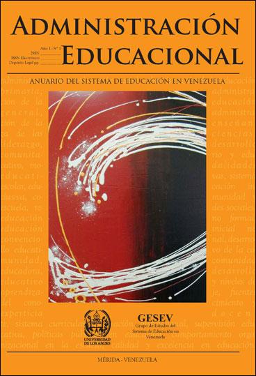 Administración Educacional. Anuario del Sistema de Educación en Venezuela