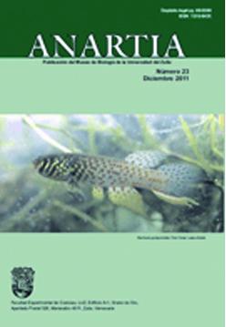 Anartia. Publicación del Museo de Biología de la Universidad del Zulia