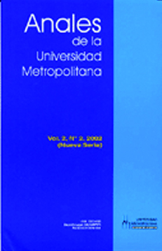 Anales de la Universidad Metropolitana