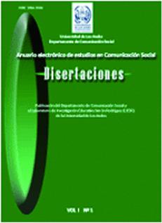 Anuario Electrónicos de Estudios en Comunicación Social Disertaciones