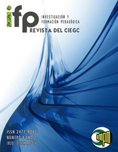 Investigación y Formación Pedagógica. Revista del CIEGC