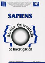 Sapiens. Revista Universitaria de Investigación